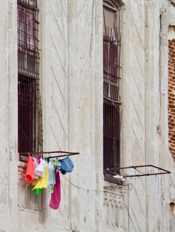 women's clothes hanging in cuba