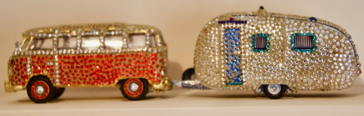 jewelled van and trailer laurie best photo