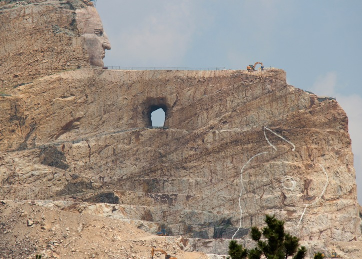 crazy horse monument laurie best photo