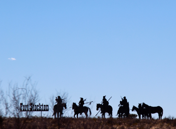 fort stockton silhouette laurie best photo