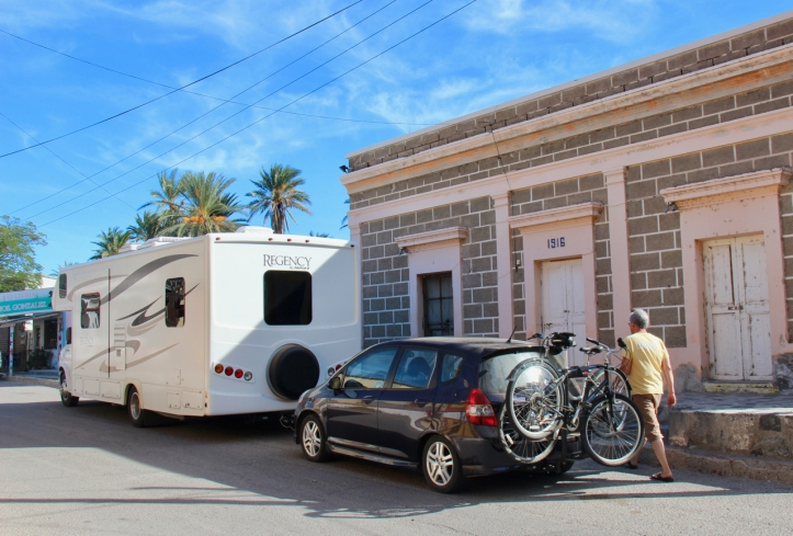 RV and bikes and car and Brent in Baja laurie best photo